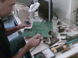 Manutenção de monitores LCD