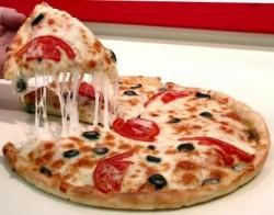 Curso de fabricação de pizzas congeladas
