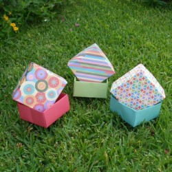 Curso Como Confeccionar Caixas para Presentes - Moldes