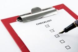 Curso Planejamento e Organização de Eventos - Check List