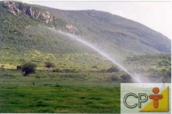 Para conduzir uma irrigação de maneira eficiente, não basta apenas aplicar água no solo