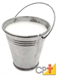 A produção do leite convencional trata-se de uma tecnologia de produtos que utiliza máquinas e equipamentos