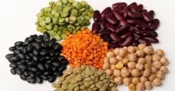 Os carboidratos estão presentes nas leguminosas: ervilha, lentilha, grão-de-bico, soja