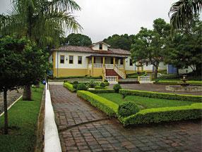 Casa sede da Fazenda CPT Agropecuária