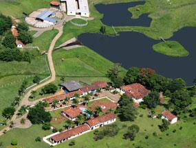 Vista aérea da Fazenda CPT Agropecuária