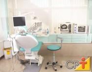 Consultório odontológico é o local onde o cirurgião-dentista receberá seus pacientes e realizará o atendimento e trabalhos necessários