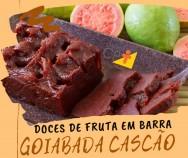 Doces de fruta em barra - Receita de Goiabada Cascão