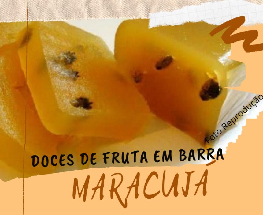 Doces de fruta em barra - Receita de Doce de Maracujá   Receitas CPT
