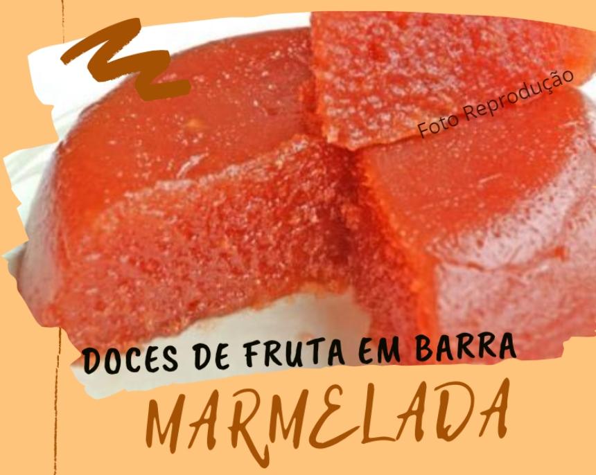 Doces de fruta em barra - Receita de Marmelada   Receitas CPT