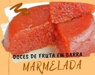 Doces de fruta em barra - Receita de Marmelada