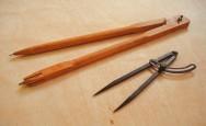 Marcenaria - utilidade do compasso, da soveta e da grosa na fabricação de móveis