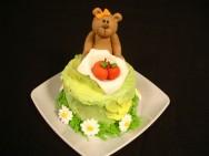 Como decorar bolos - como fazer ursinho de pasta americana