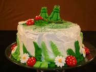 Como decorar bolos - como fazer sapinho de pasta americana