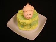 Como decorar bolos - como fazer porquinho de pasta americana