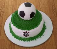 Como decorar bolos - como fazer bola de futebol de pasta americana