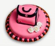 Como decorar bolos - como fazer bolo-bolsa