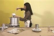 Como fazer velas artesanais - preparo da parafina