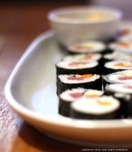 Comida japonesa - Sushi: Kani Maki