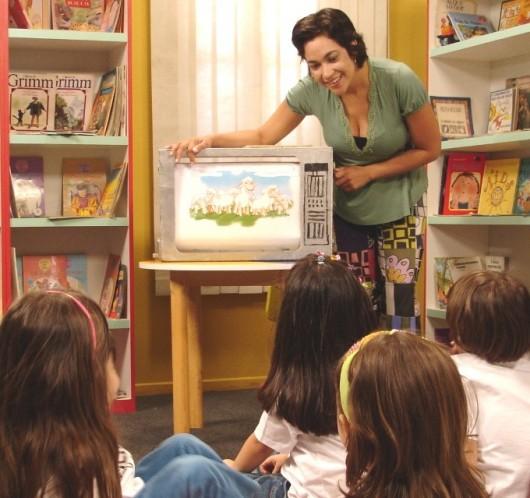 Contação de histórias - o desafio da leitura literária na escola