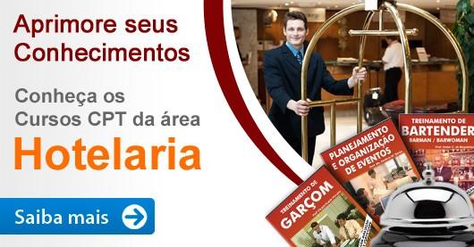 Aprimore seus conhecimentos. Conheça os Cursos CPT da área Hotelaria.