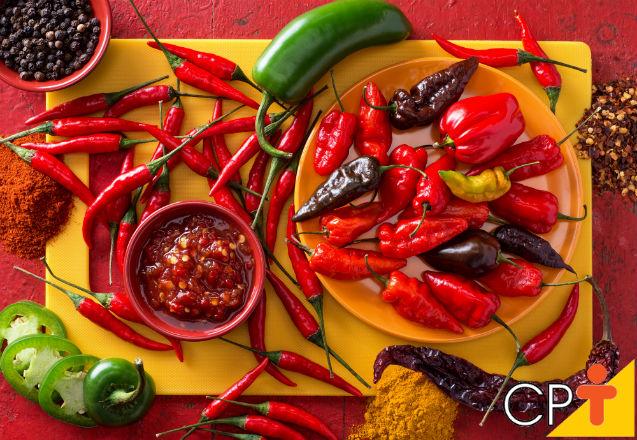 Curiosidades sobre as pimentas   Artigos Cursos CPT