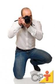Os modos de captura da câmera fotográfica são utilizados para realizar diferentes ajustes de acordo com o conhecimento do fotógrafo.