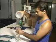 O sistema aberto na criação de larvas de camarão