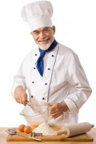 Cozinheiro - profissional de talento artístico capaz de envolver, transformar e combinar ingredientes