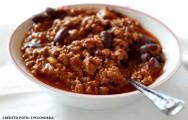 Comida mexicana - Receita de Tex-Mex Chili Com Carne
