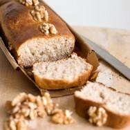 Receita de Pão de Nozes
