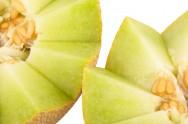Ponto de colheita do melão