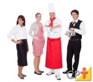 As funções mais buscadas, para trabalho no período da Copa 2014, são cozinheiro, recepcionistas e garçons.
