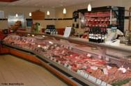 As butiques de carnes são projetadas para valorizar as características dos produtos
