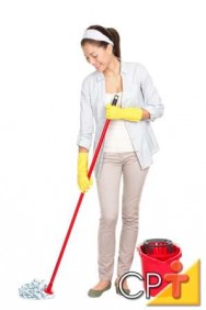 Antes de remover uma mancha, primeiro limpe-as de fora para dentro, evitando assim que se espalhe mais.