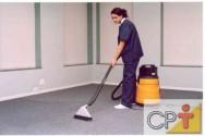 Limpeza em casa ou na empresa - como limpar carpetes