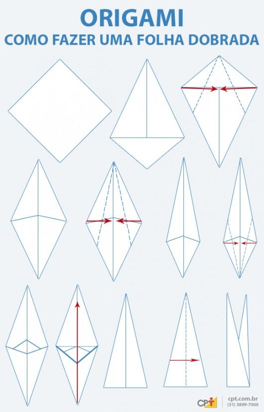 origami    o fazer a flor tulipa de papel cursos a