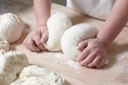 As leveduras são usadas no processo de fabricação dos pães.