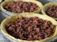 Receitas salgadas - Como fazer Torta de Mandioquinha e Carne Seca