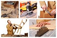 Acabamento em móveis: preparo da superfície, envernizamento, tingimento, laqueamento, selamento e enceramento