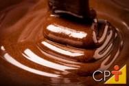 Como derreter chocolate corretamente