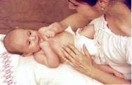 Massagem para bebês: Shantala