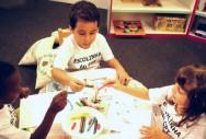 Com a evolução do desenho, a criança passa a ter uma maior consciência visual dos objetos