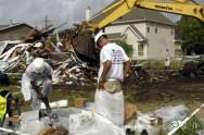 A reciclagem de resíduos da construção civil tem-se restringido aos grandes centros urbanos, onde ocorre maior geração de entulho. Foto: USDAGov