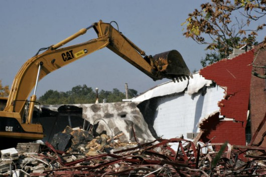 Resíduos da construção civil estão entre os maiores poluidores do mundo. Crédito/Foto: Dana Beveridge