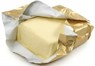 A embalagem da manteiga deverá ser feita logo após a fabricação