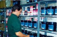 as tintas mais utilizadas para imprimir em tecidos são as fabricadas à base de água
