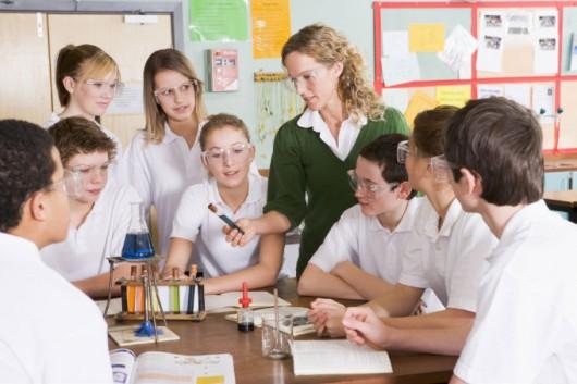 A aprendizagem significativa nas aulas práticas e demonstrativas.