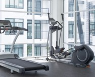 As esteiras elétricas são equipamentos essenciais de uma academia de ginástica.