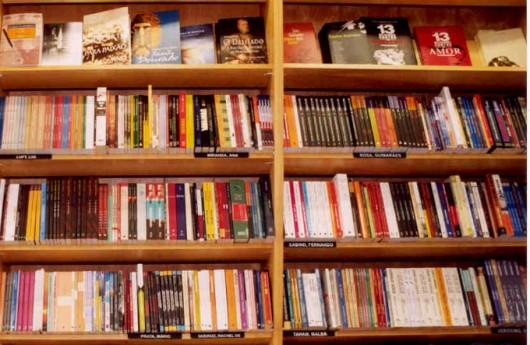 Livraria: controle de estoque de livros, cadastramento e codificação.