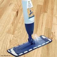 A aplicação de cera com este Mop resulta em uma eficiência enorme e a produtividade aumenta em torno de 40%